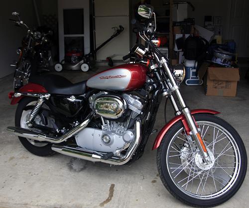 2005 Harley-Davidson® XL883C Sportster® 883 Custom (Cherry ...