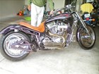 Used 2002 Bourget Bike Works Low Blow Chopper