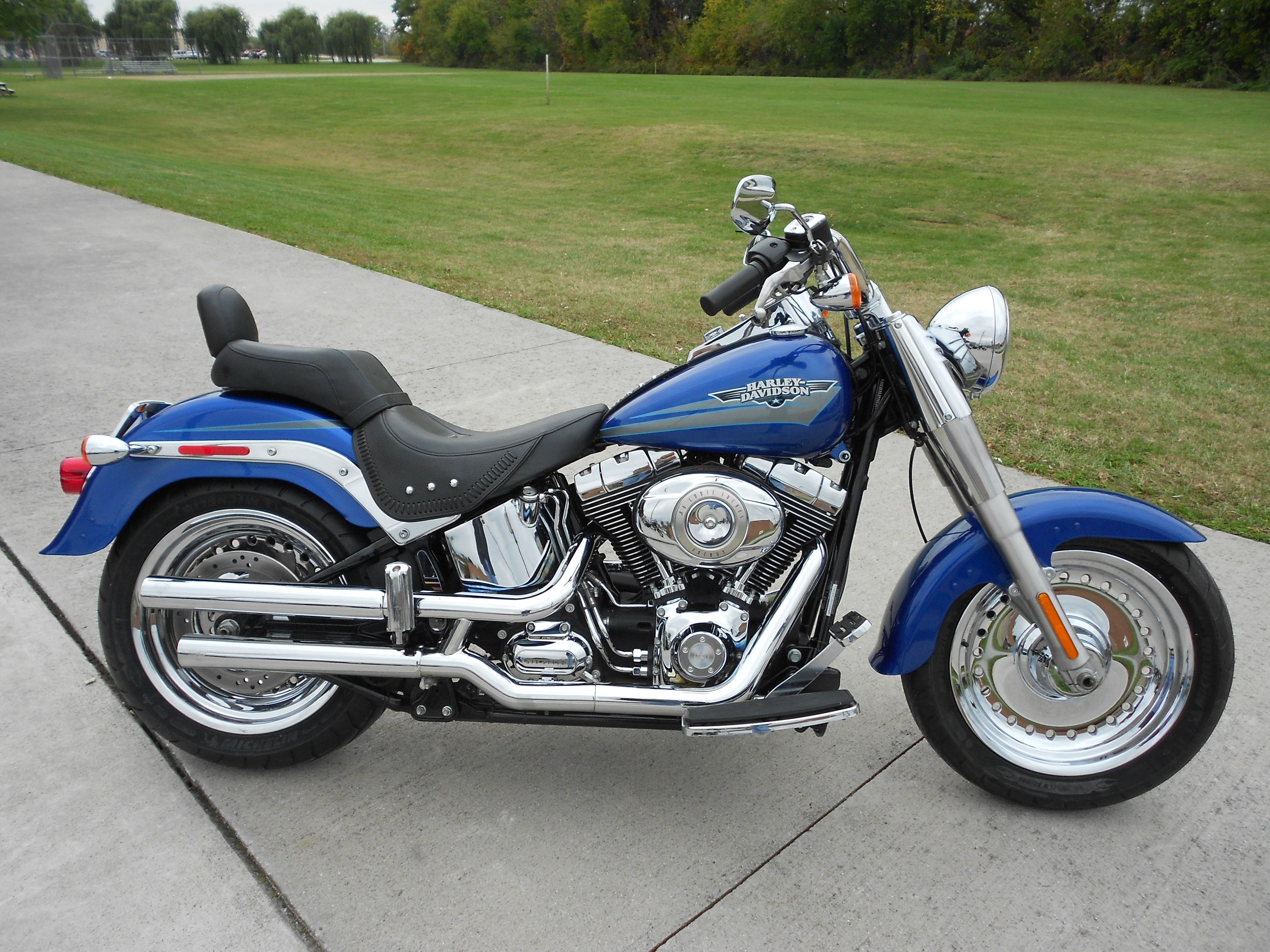 2009 Harley-Davidson® FLSTF Softail