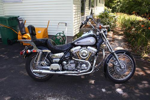 Photo of a 1986 Harley-Davidson® FXRS Low Rider® Liberty Edition