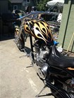 Used 2003 Bourget Bike Works Fat Daddy Chopper