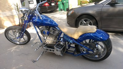 Used 2013 Ultima Springer Chopper