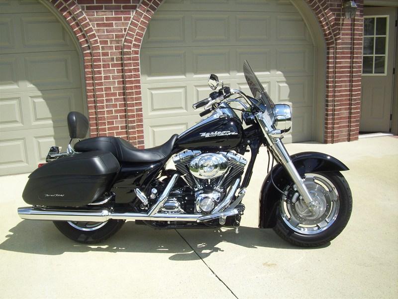 2005 Harley Davidson 174 Flhrs I Road King 174 Custom Black