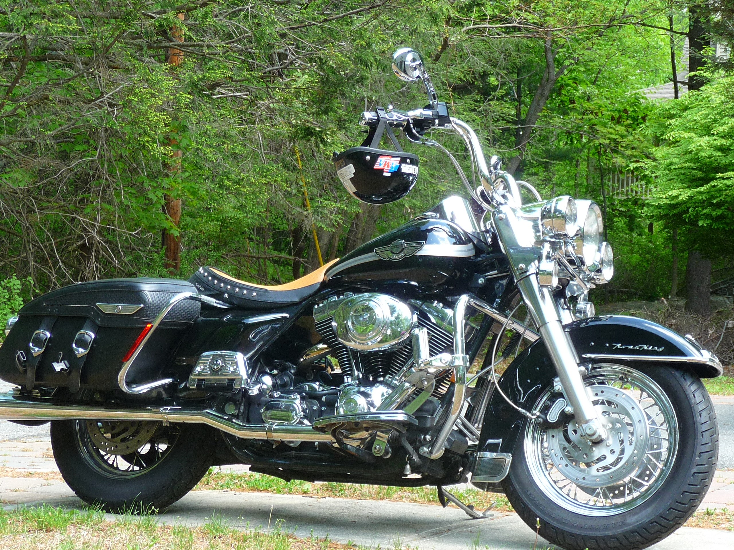 2003 harley davidson flhrc i anv road king classic anniversary black wanaque new jersey. Black Bedroom Furniture Sets. Home Design Ideas