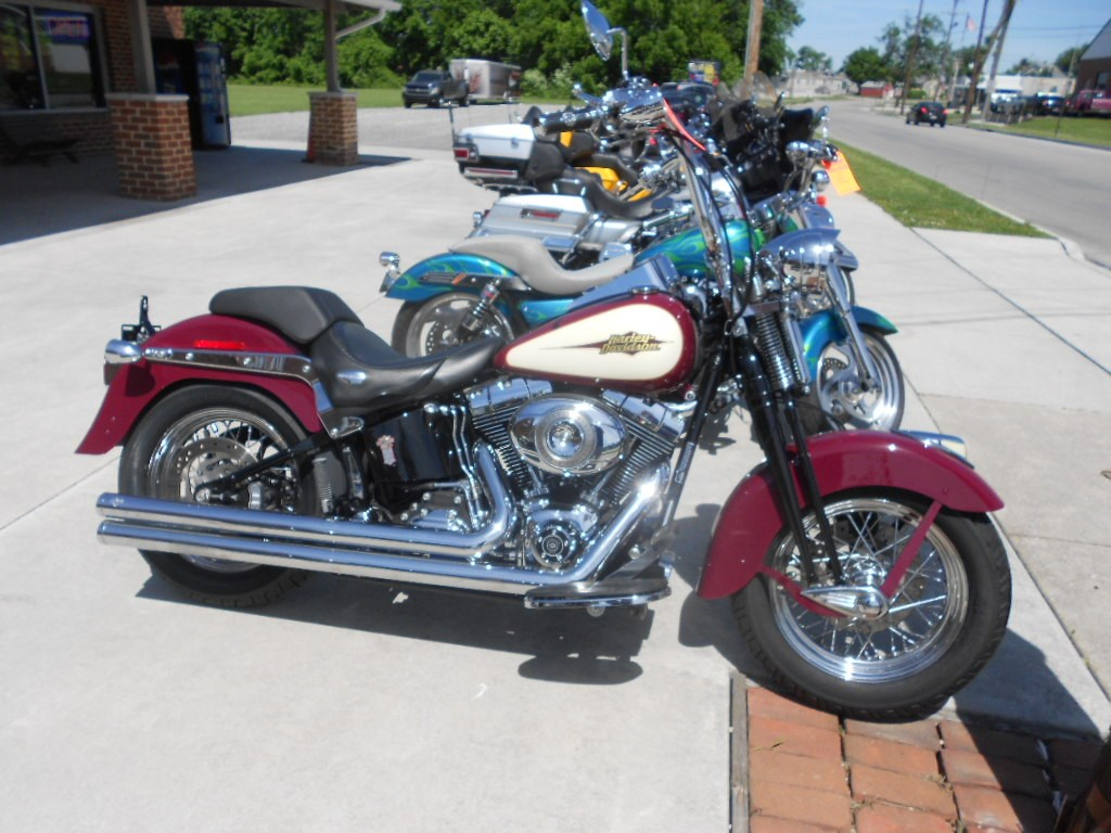 2007 Harley-Davidson® FLSTSC Softail®  Springer® Classic – $12400