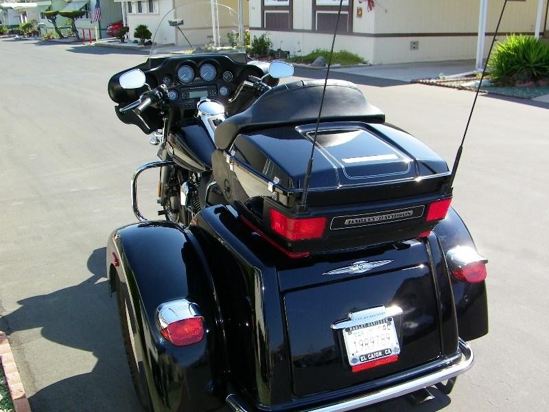 2009 harley davidson custom trike black chula vista