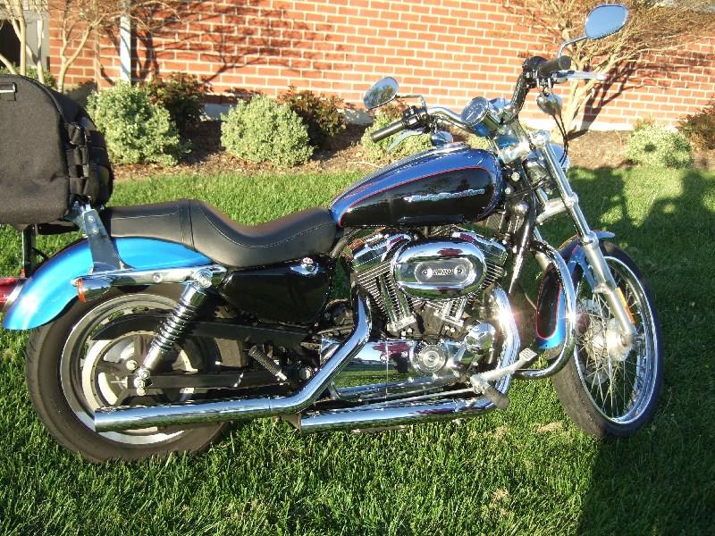 2004 Harley-Davidson® XL1200C Sportster® 1200 Custom (Blue ...
