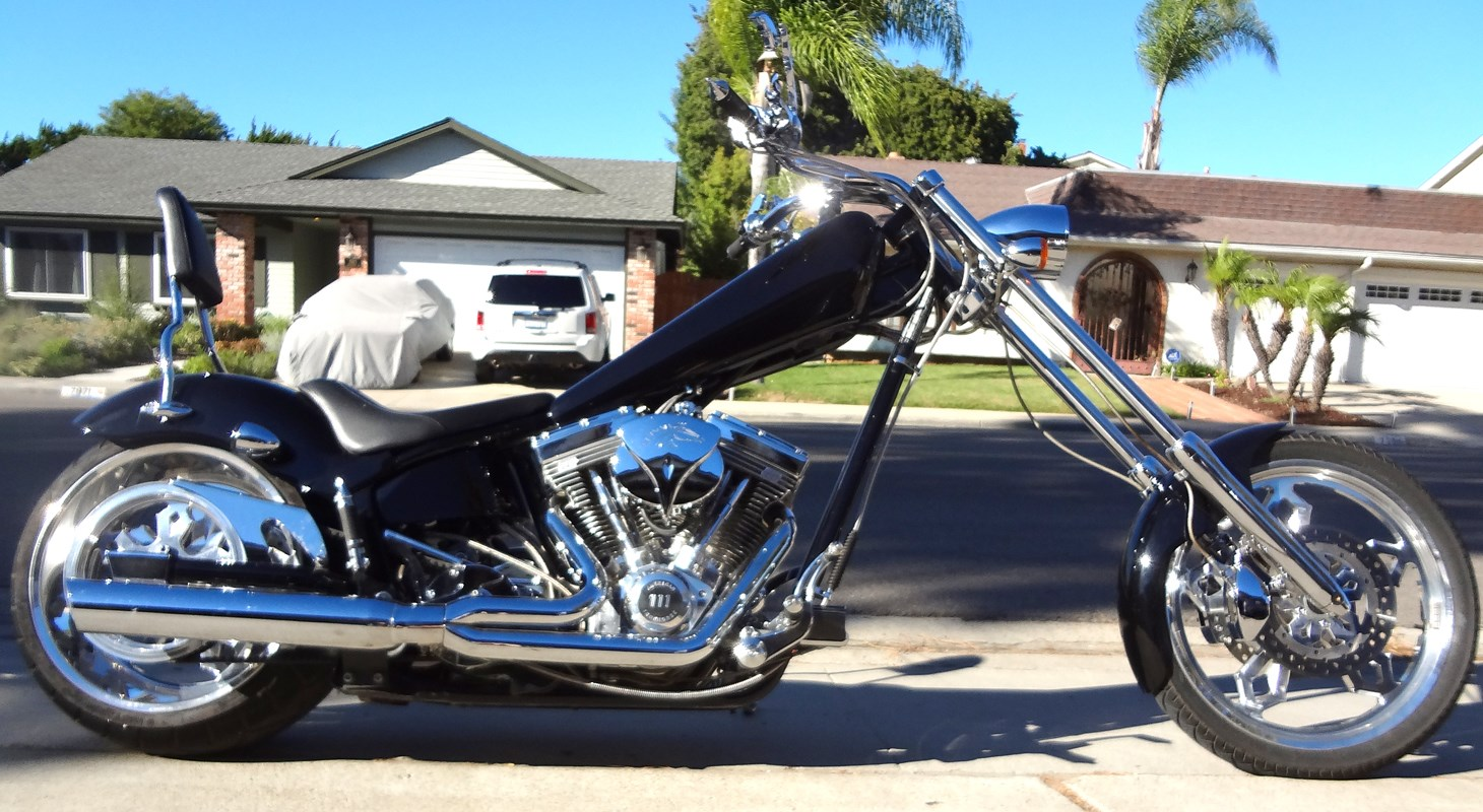 2005 american ironhorse texas chopper black san diego california 465288. Black Bedroom Furniture Sets. Home Design Ideas