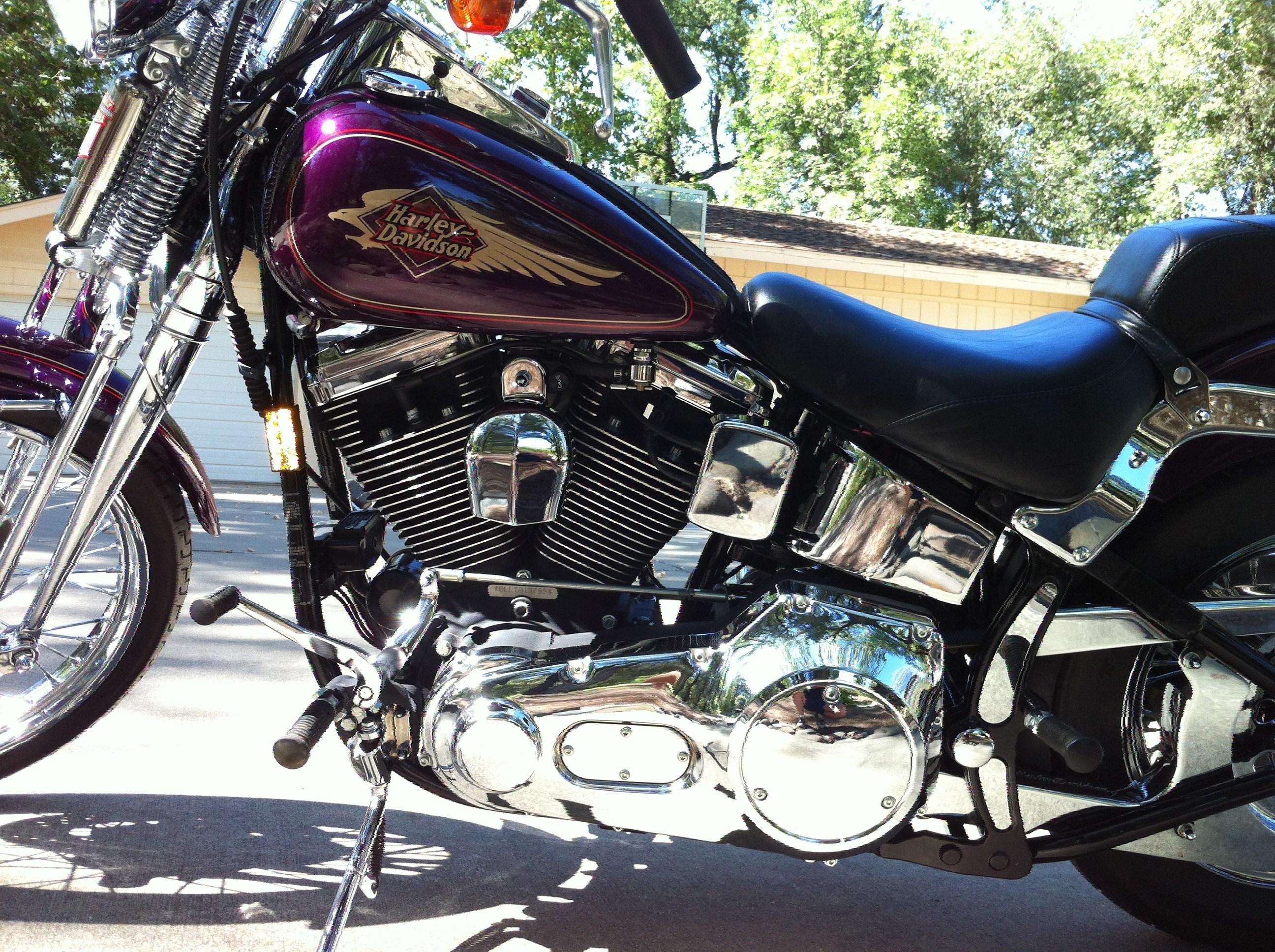Harley Davidson Chico Ca >> 1995 Harley-Davidson® FXSTS Springer® Softail® (Purple ...