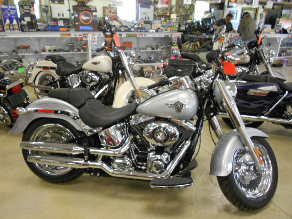 2015 Harley-Davidson® FLSTF	 Softail® Fat Boy® – $17500