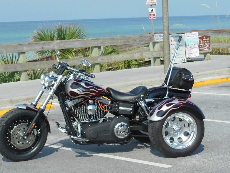 2009 Harley-Davidson® Custom Trike (Black silver & orange ...