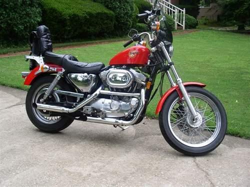 1993 Harley-Davidson® XLH-883 Sportster® 883 (Red ...