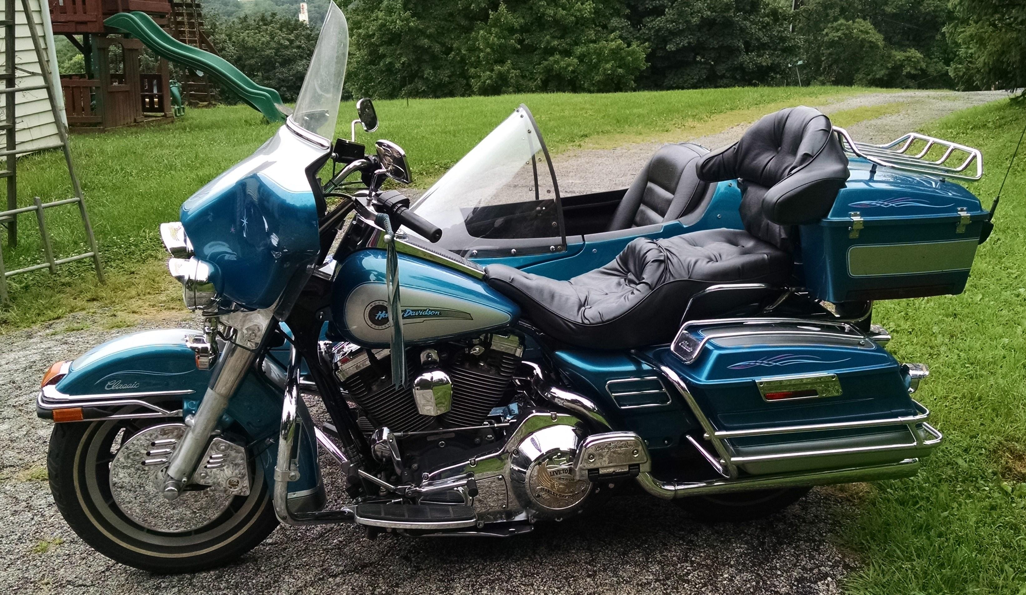 1994 Harley Davidson 174 Flhtc Electra Glide 174 Classic Teal