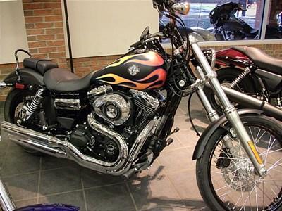 New 2015 Harley-Davidson® Dyna® Wide Glide®