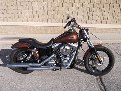 Used 2014 Harley-Davidson® Dyna® Street Bob® - H-D1 Factory Custom