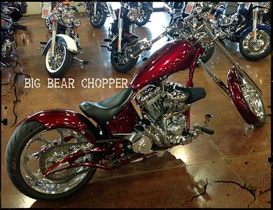 Used 2008 Big Bear Choppers Venom Chopper
