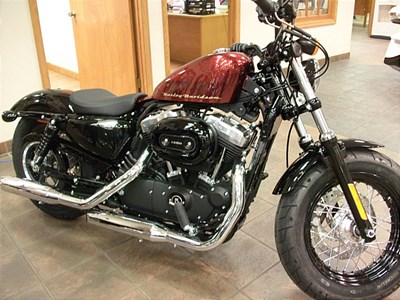 New 2015 Harley-Davidson® Sportster® Forty-Eight®