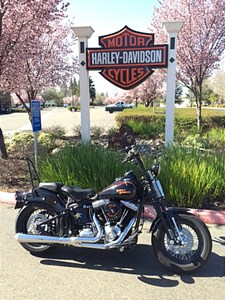 Used 2009 Harley-Davidson® Softail® Cross Bones™ w/ Sidecar