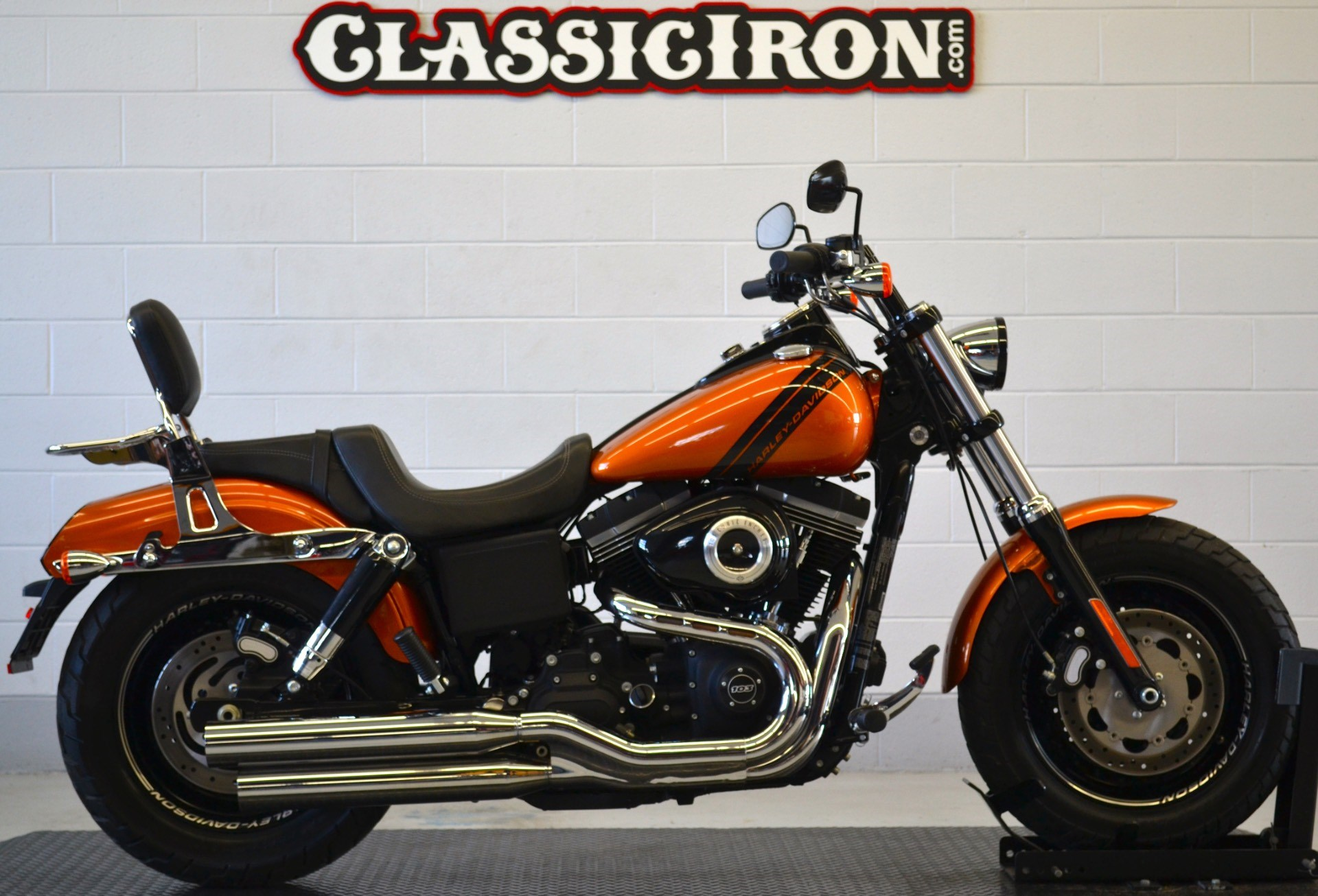 2014 harley davidson fxdf dyna fat bob amber whiskey fredericksburg virginia 685699. Black Bedroom Furniture Sets. Home Design Ideas